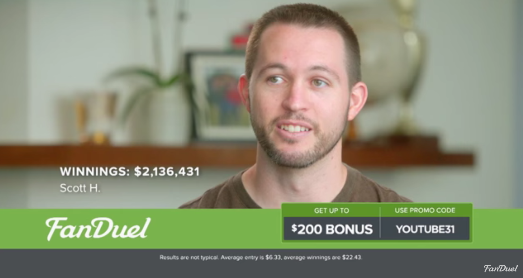 FanDuel CEO Admits: Maybe They Might Have Overdone It A Bit With The TV Ads