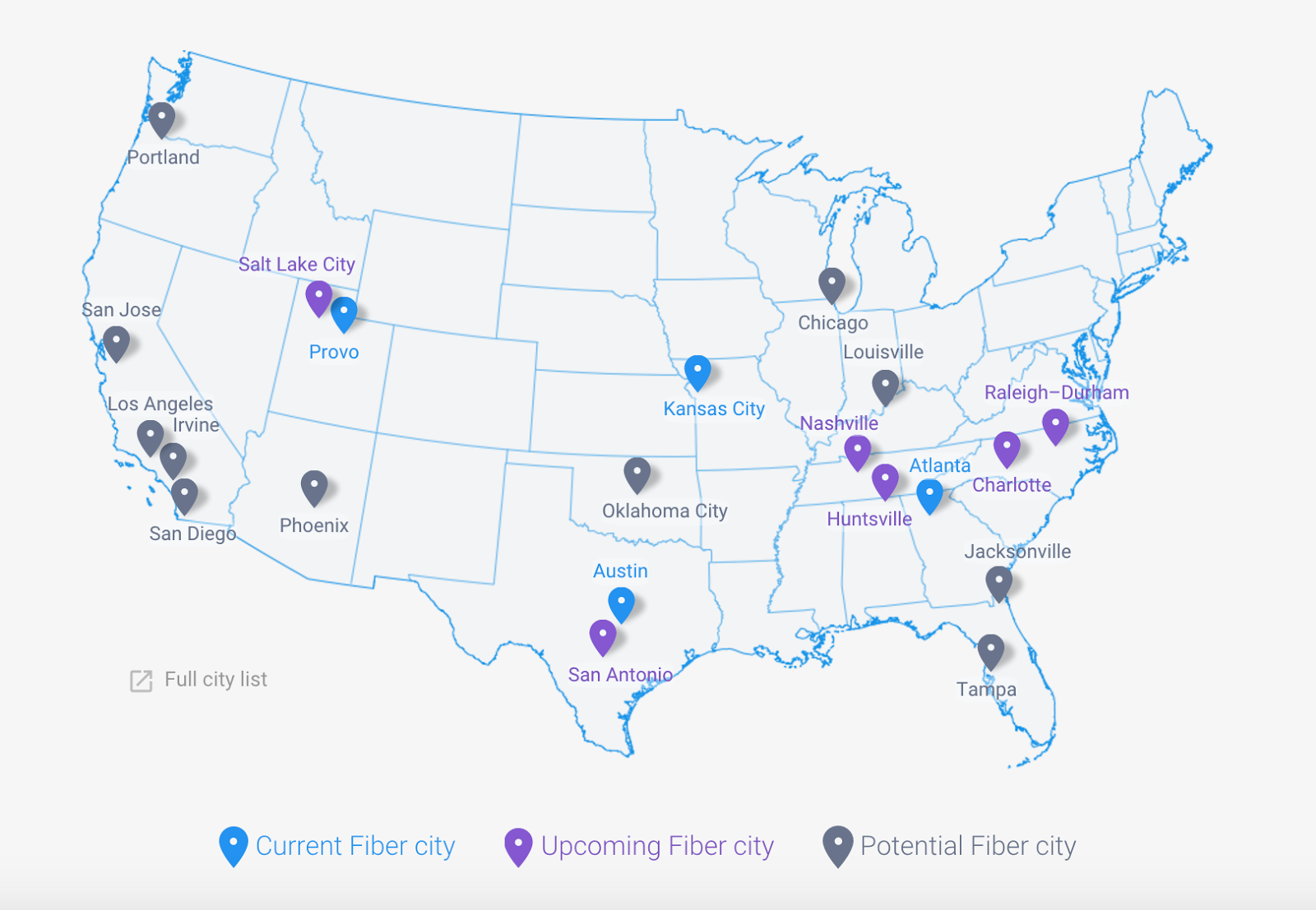 Google Fiber Coming To Huntsville In Public-Private Partnership