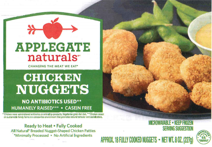 Perdue Recalling Applegate Farms Chicken Nuggets That May Include Extra Crunchy Plastic Pieces