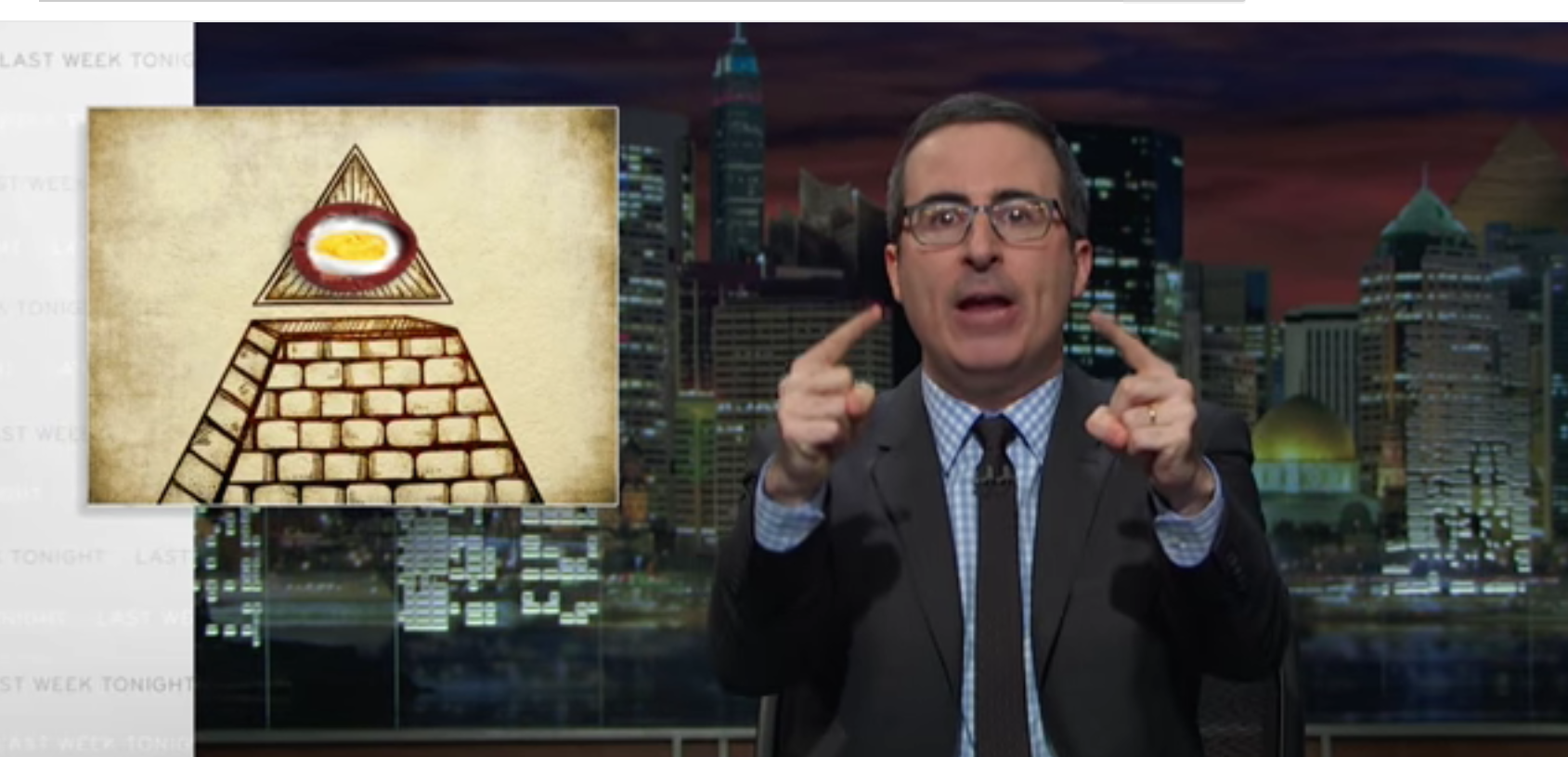 John Oliver Reveals Illicit Global Cadbury Creme Egg Conspiracy
