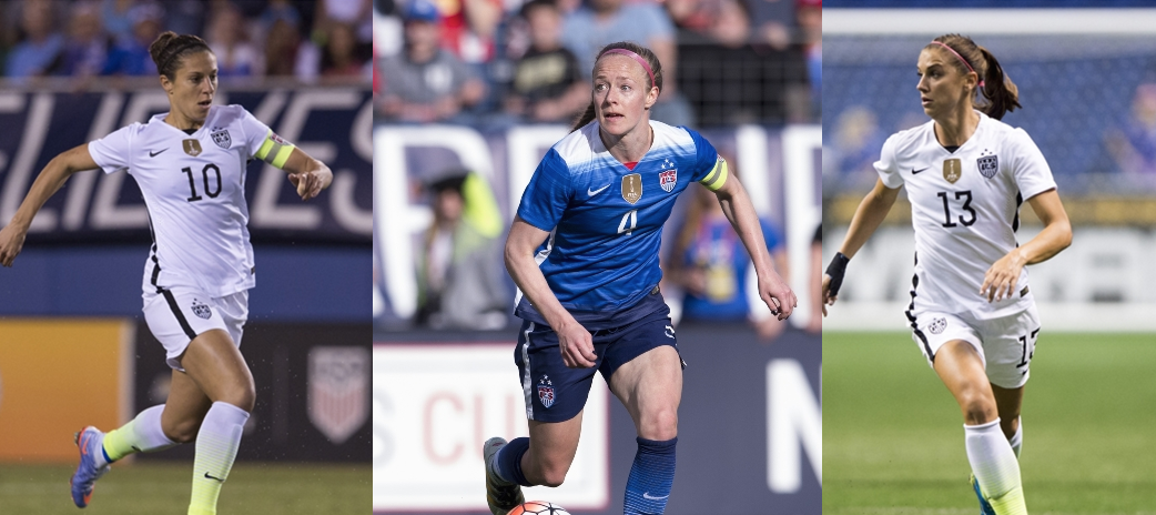 World Cup Champ Women's Soccer Players Accuse U.S. Soccer Federation Of Wage Discrimination