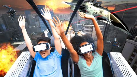 Six Flags Adding Virtual Reality To Roller Coasters
