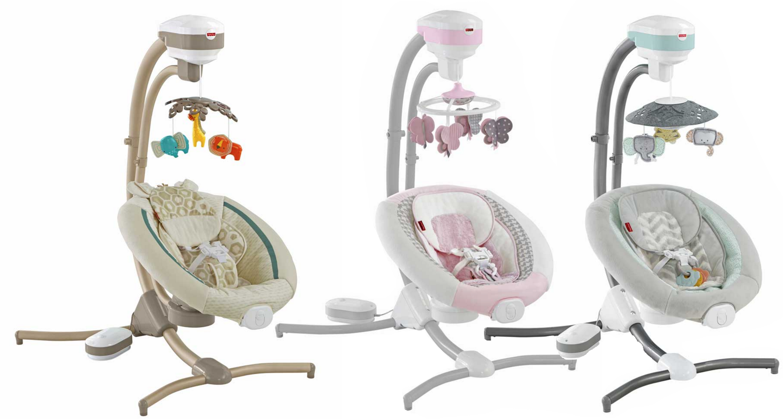 Fisher-Price Recalls 34,000 Cradles Over Safety Concerns