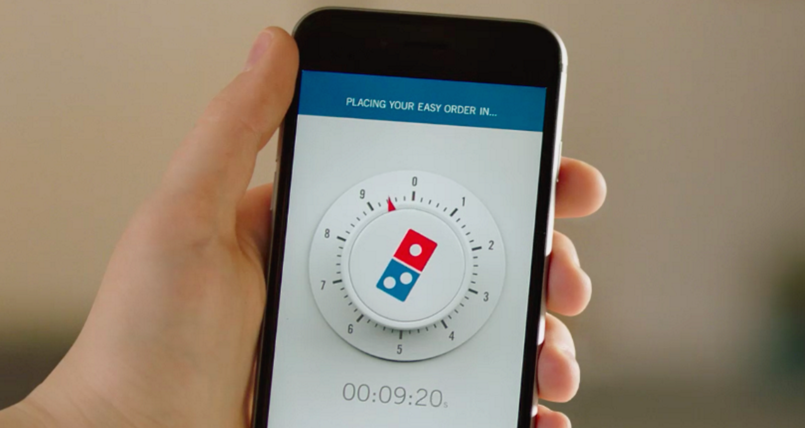 "Domino's New ""Zero Click"" Ordering App May Be A Butt-Dial Disaster Waiting To Happen"