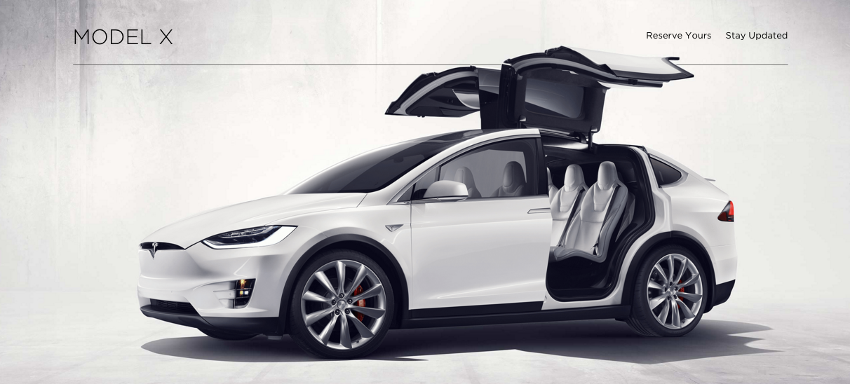 Owners Of Tesla's New Model X Report Doors Won't Close, Other Quality Issues