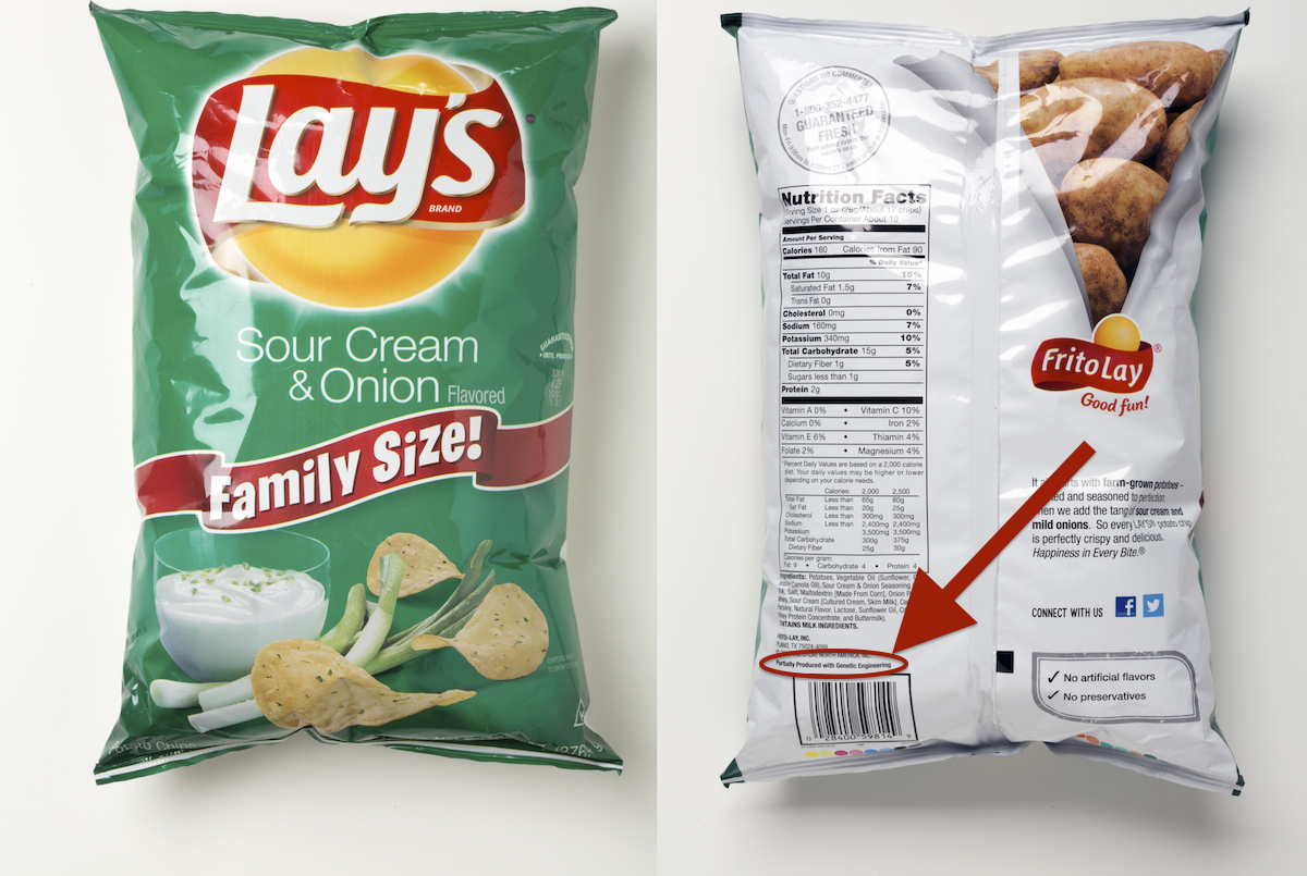 Pepsi, Frito-Lay Quietly Adding GMO Ingredient Labels To Some Foods