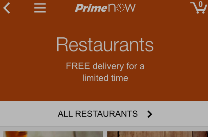 Amazon Expands Restaurant Delivery Service To Miami, Atlanta