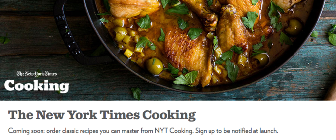New york times will now deliver ingredients for its recipes to your if youve read a recipe in the newspaper and quietly wondered where you would find some of the ingredients the new york times has found a new way to solve forumfinder Choice Image
