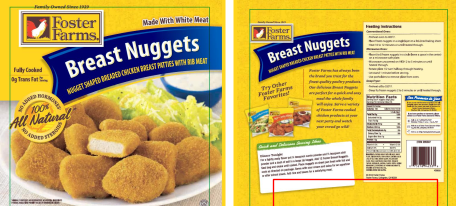 Foster Farms Recalls 220K Pounds Of Chicken Nuggets, Because Plastic And Rubber Are Not Tasty
