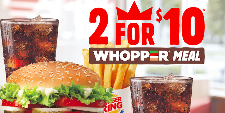 "Burger King Has A New ""2 For $10"" Meal Deal, But Who's It Actually For?"