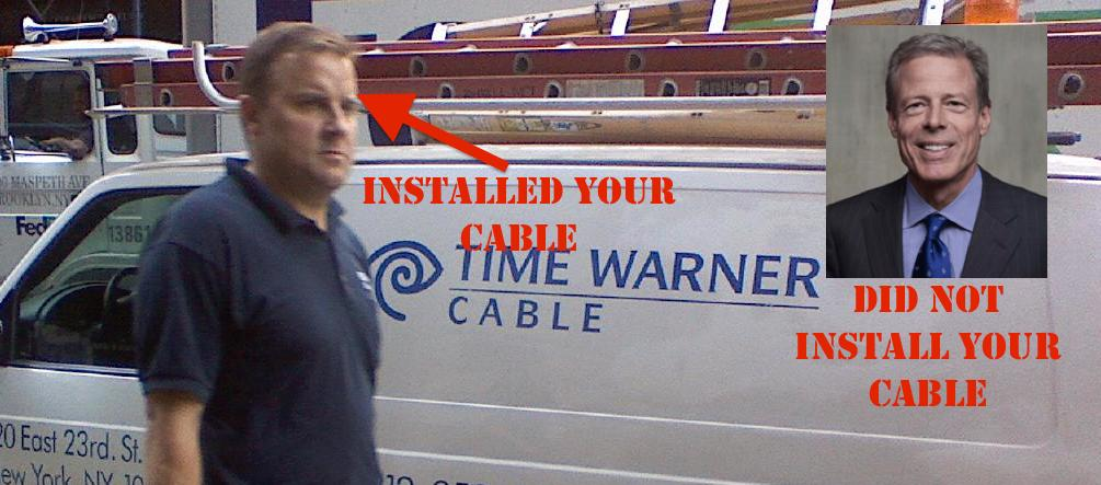 Stop Complaining To Time Warner CEO About Your Cruddy Time Warner Cable Service