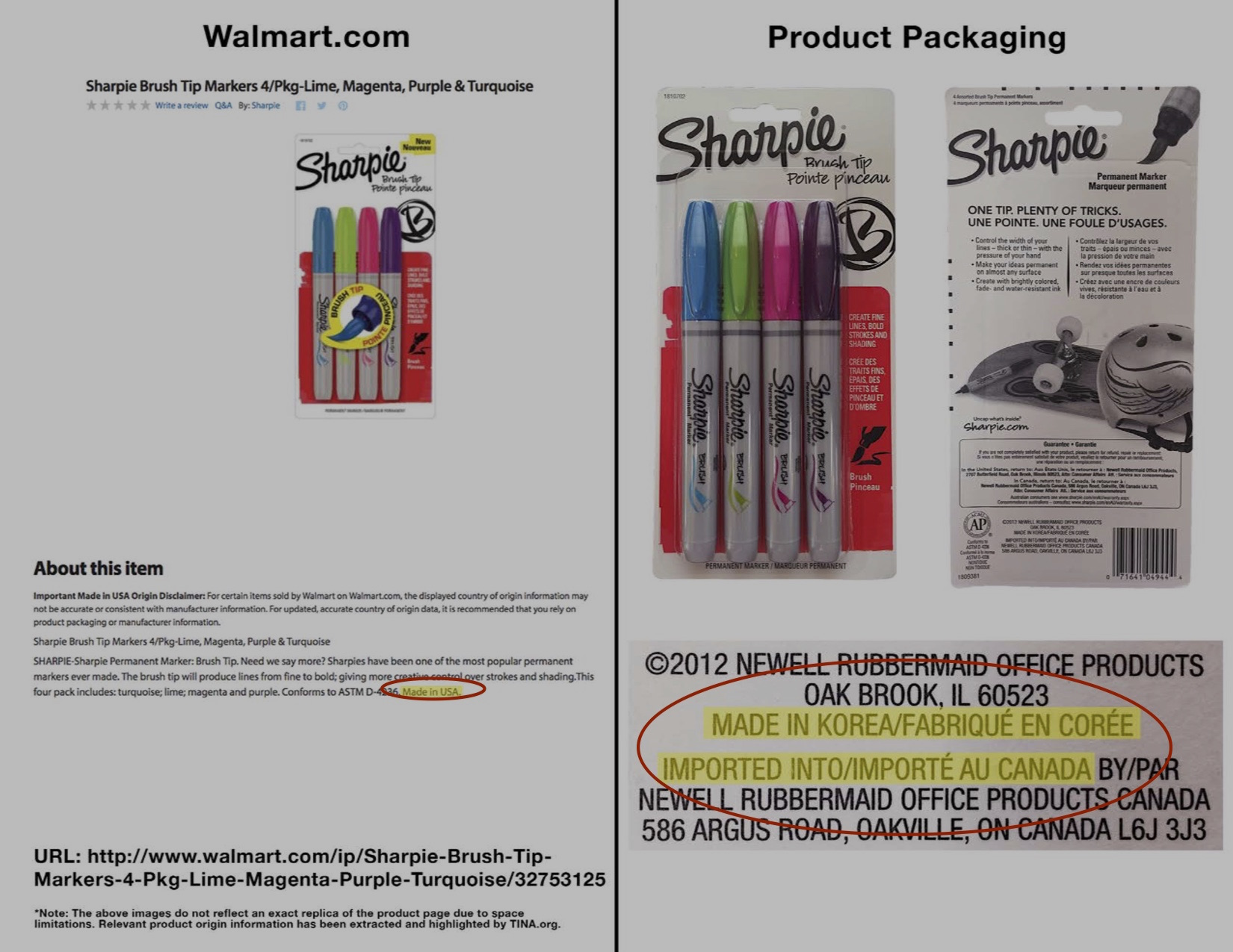"Walmart Still Reportedly Misusing ""Made In U.S.A"" Labels"