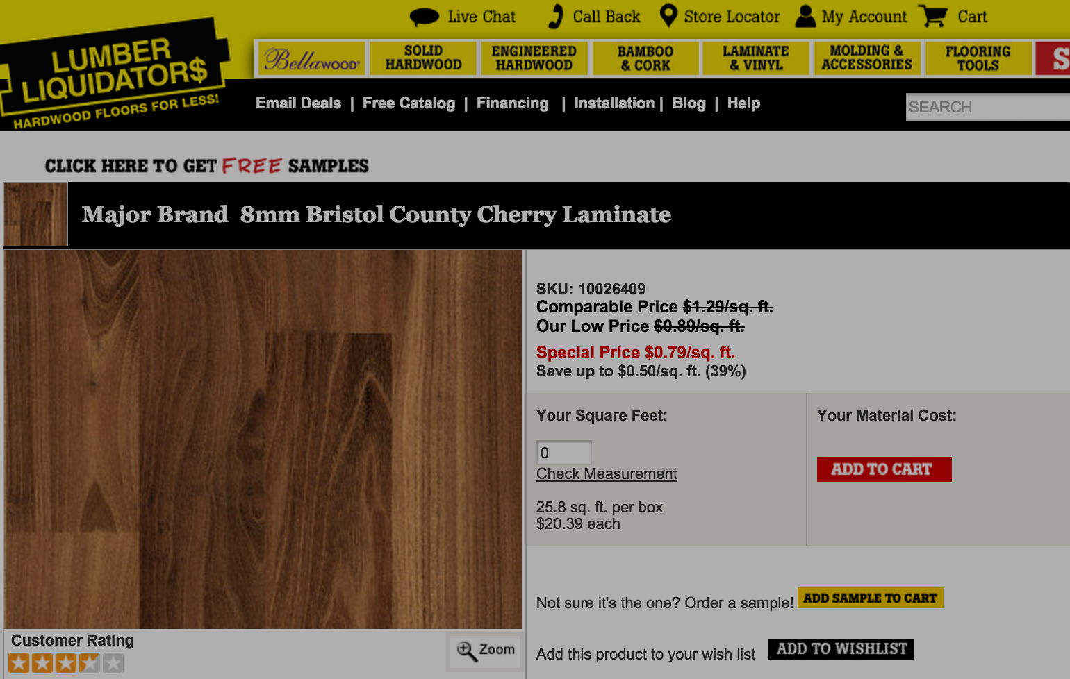Lumber Liquidators Won't Resume Sale Of Laminate Wood Flooring From China