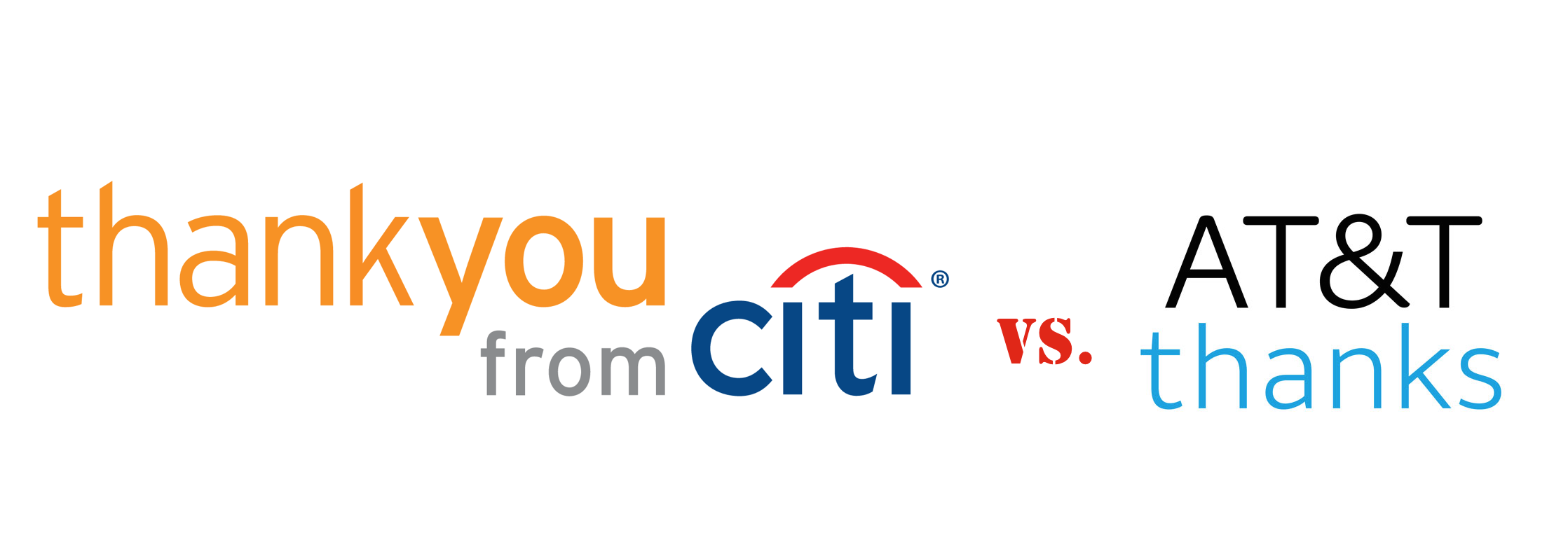 "Citi Is Suing AT&T Over The Word ""Thanks"""