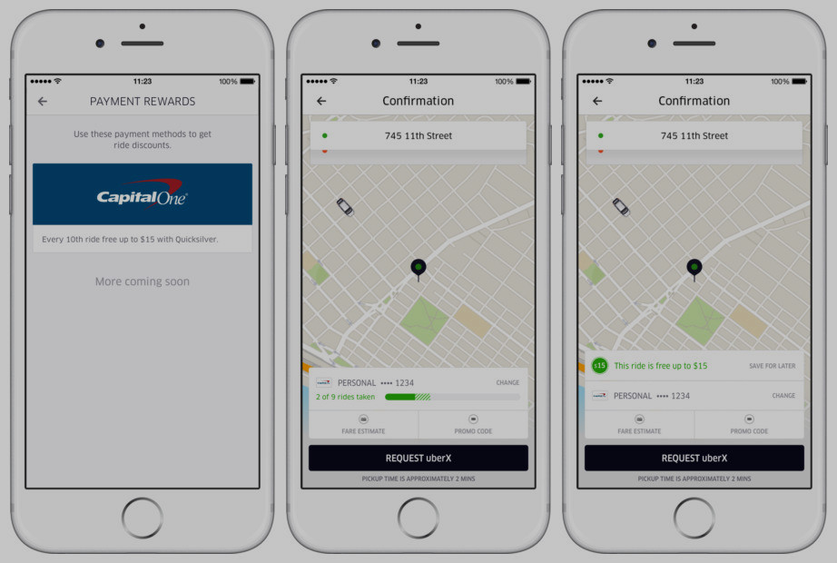 Uber Teams Up With Capital One For Rewards Program