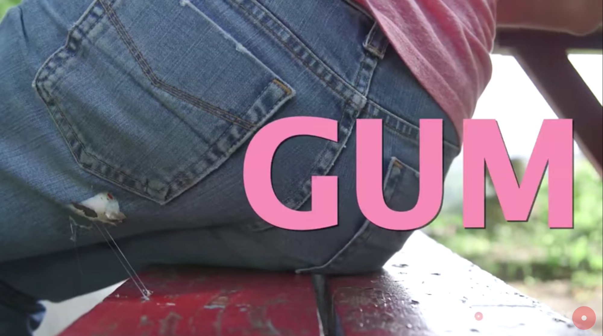 Go Full MacGyver With This 5-Step Process For Getting Gum Off Your Jeans