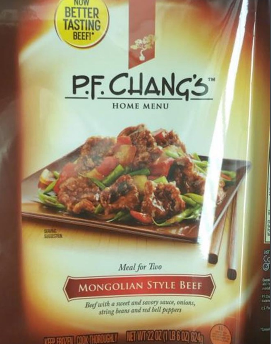 ConAgra Recalls P.F. Chang's Frozen Family Meals Due To Possible Metal Shards
