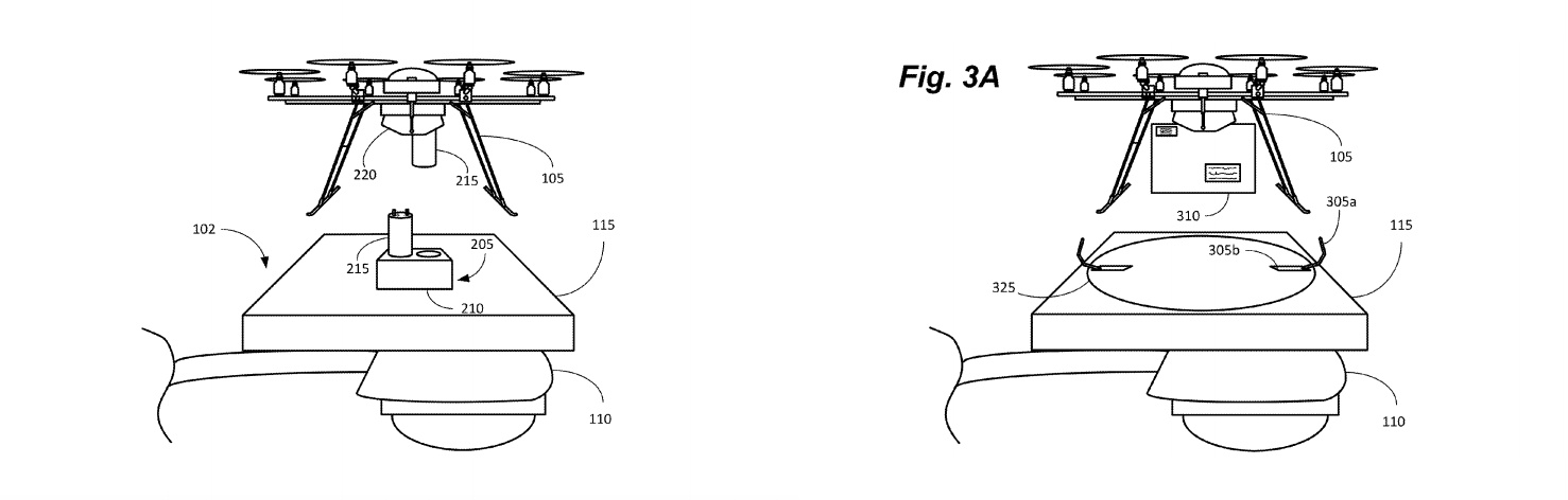 Amazon Patents Way To Turn Lampposts, Church Steeples Into Drone Perches