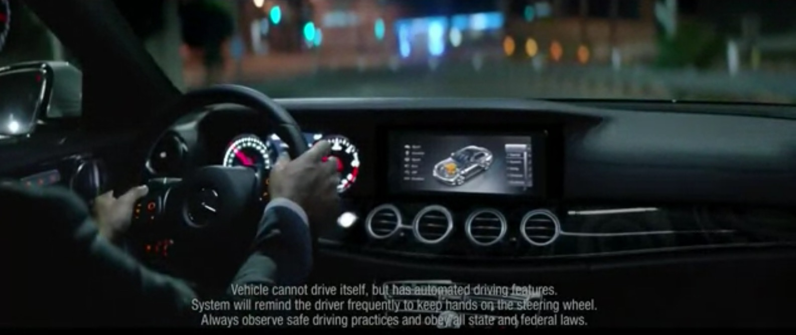Mercedes Pulls Potentially Confusing Ads For 2017 E-Class That Call The Car 'Self-Driving'