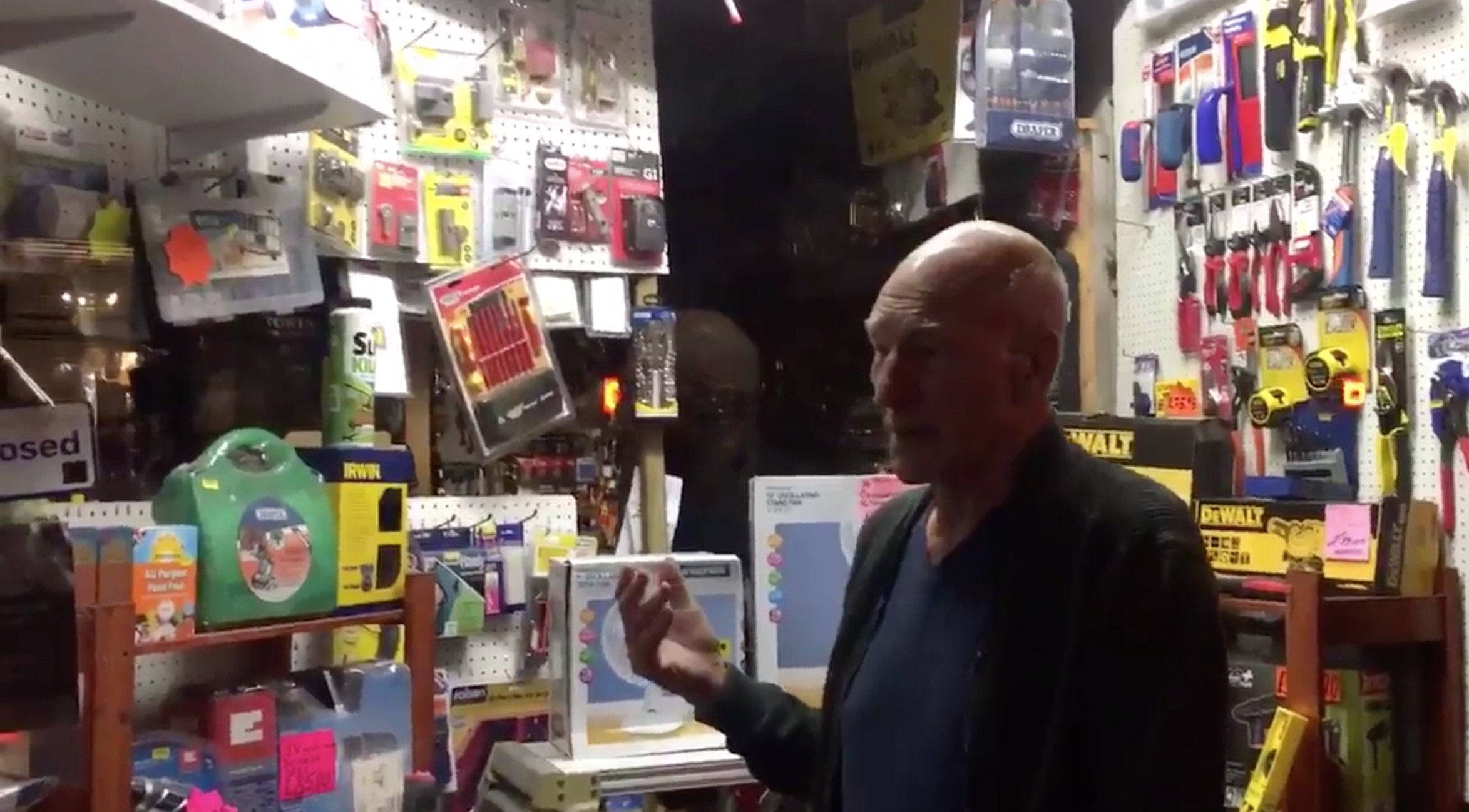 Sir Patrick Stewart Has Strong Feelings About Hardware Stores