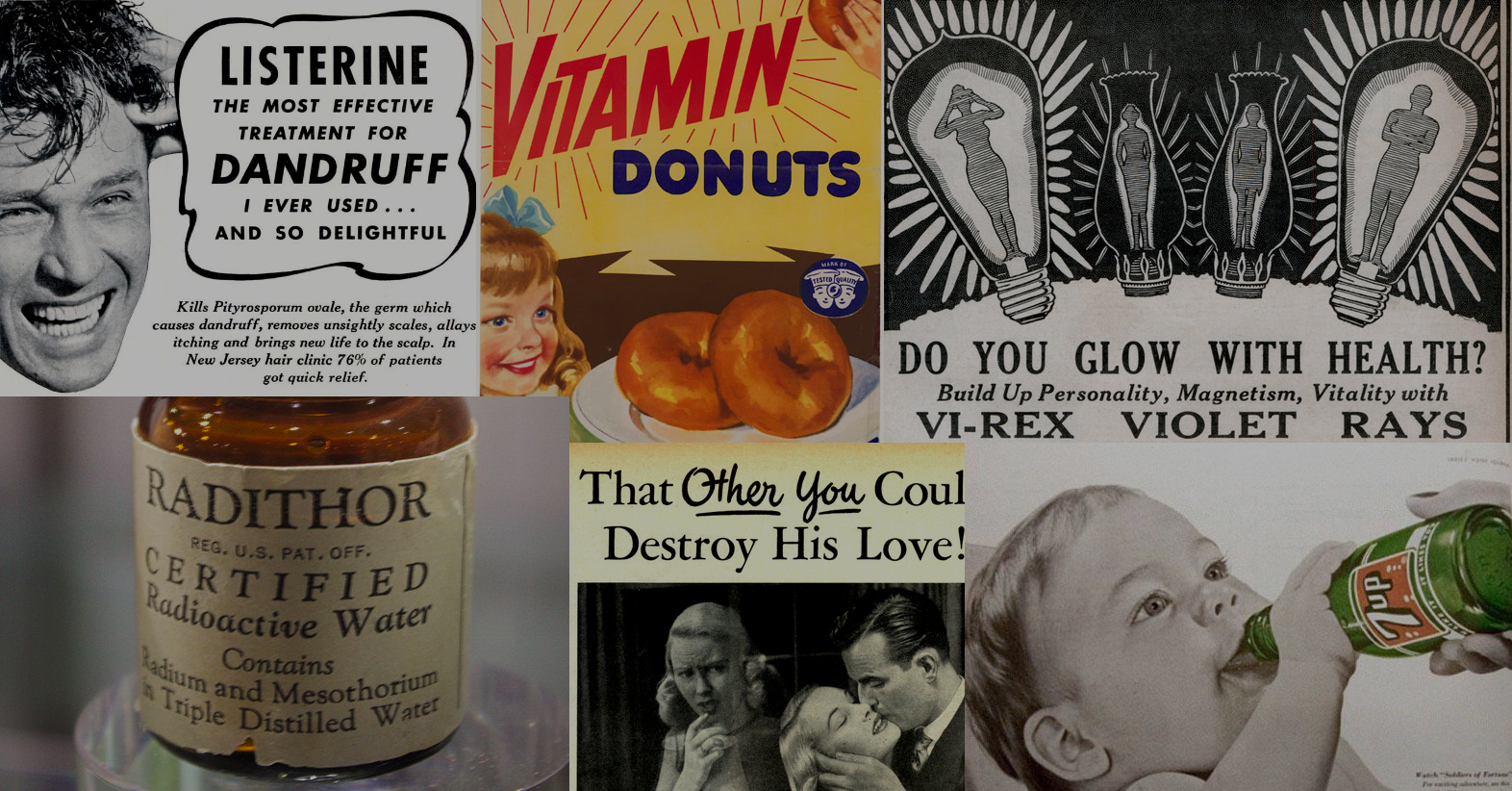 "7 ""Health"" Products From The Past That Would Never Make It Onto Shelves Today"