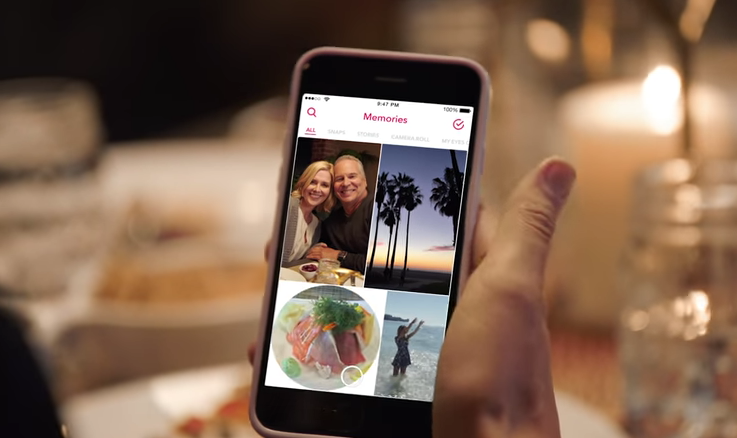 "Snapchat ""Memories"" Feature Lets You Save Photos To App For Sharing Later"