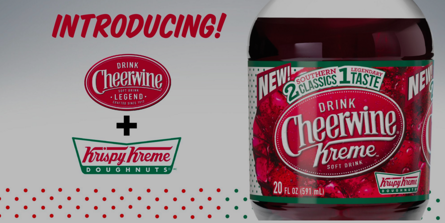 New Krispy Kreme Flavored Cheerwine Soda Is One Sugary Ouroboros