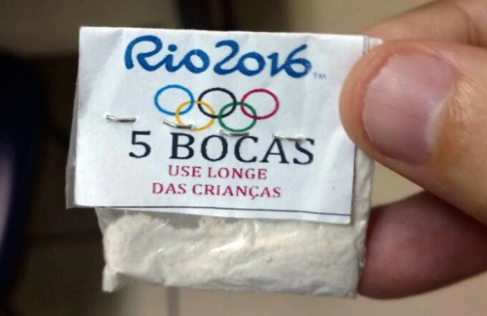 Rio Drug Dealers Peddling Olympic-Themed Cocaine