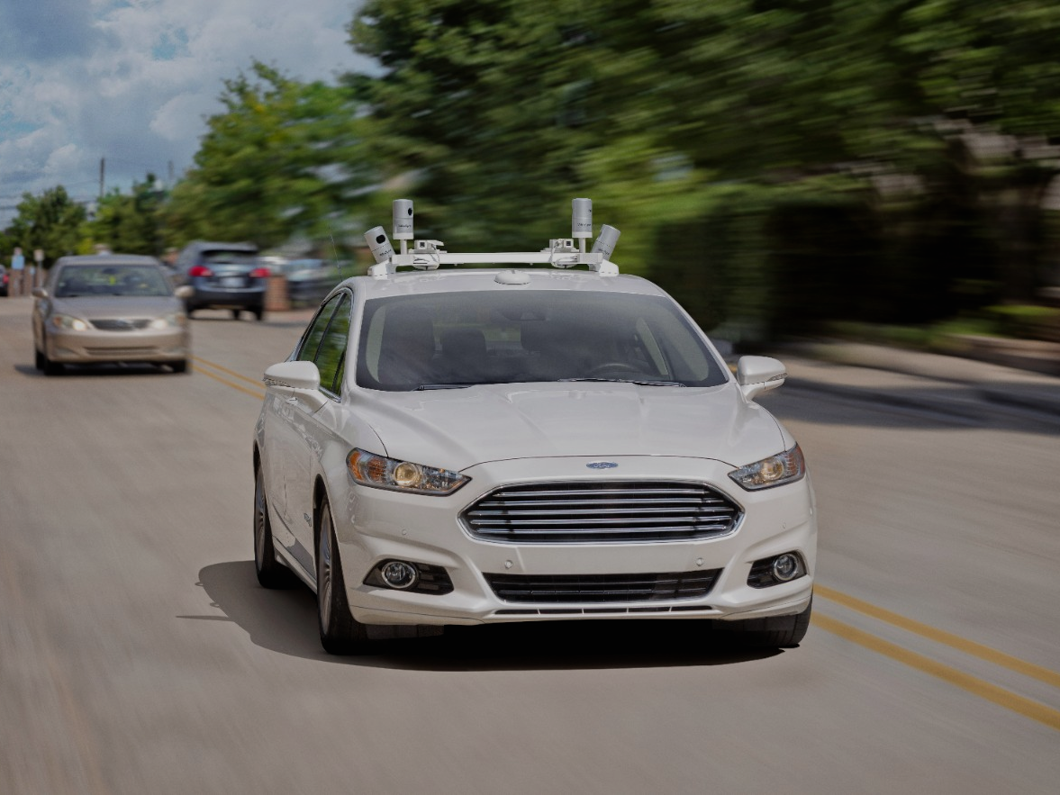 Ford Plans To Make Autonomous Ride-Sharing Vehicles Available By 2021
