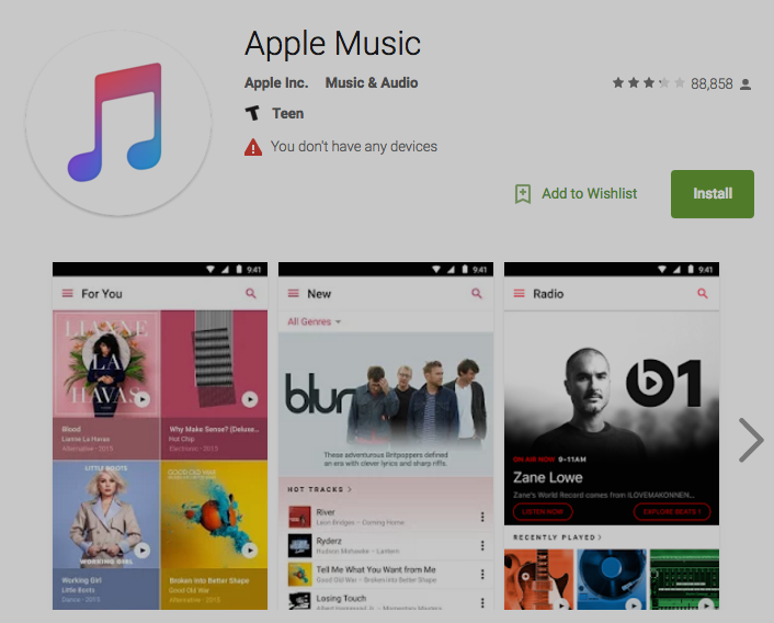 Apple Music's Real Android App Is Ready