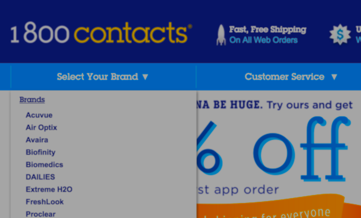 Feds Accuse 1-800 Contacts Of Badvertising