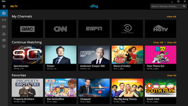 Sling TV Makes Jump To Windows 10