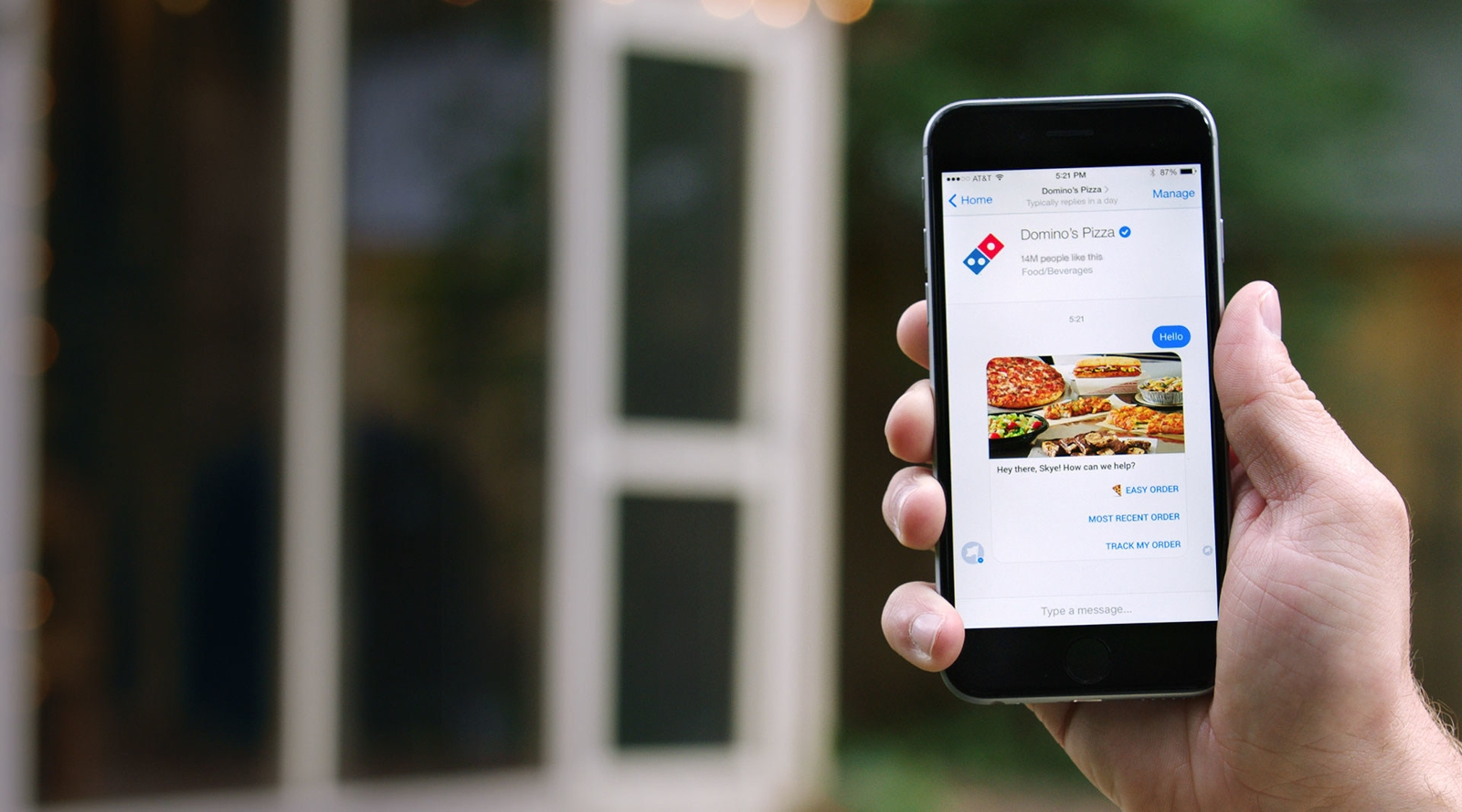 You Can Now Order Domino's Pizza Through A Facebook Messenger Bot