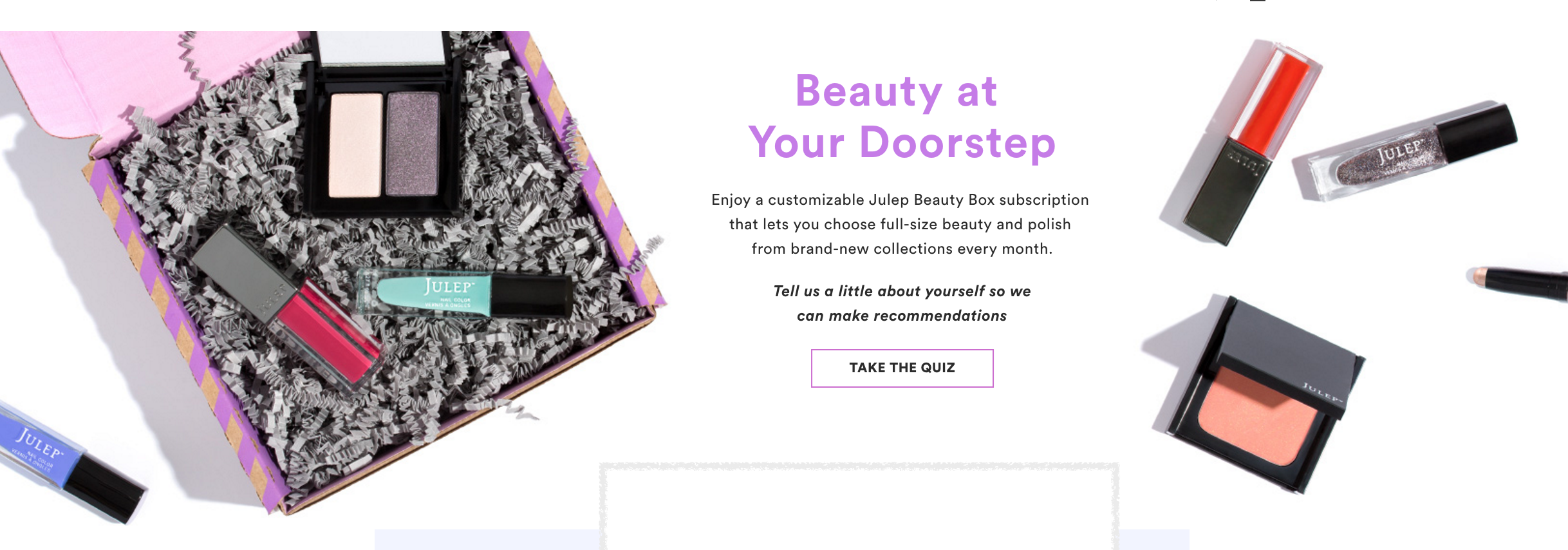 Beauty Box Julep Must Donate Toiletries To Settle Lawsuit Over Shady Negative-Option Marketing