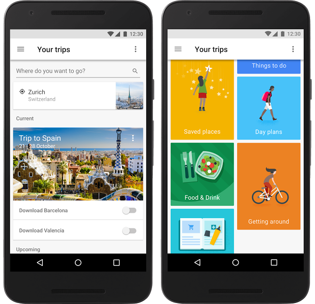 "Google Debuts Personalized Travel Planner Dubbed ""Google Trips"""