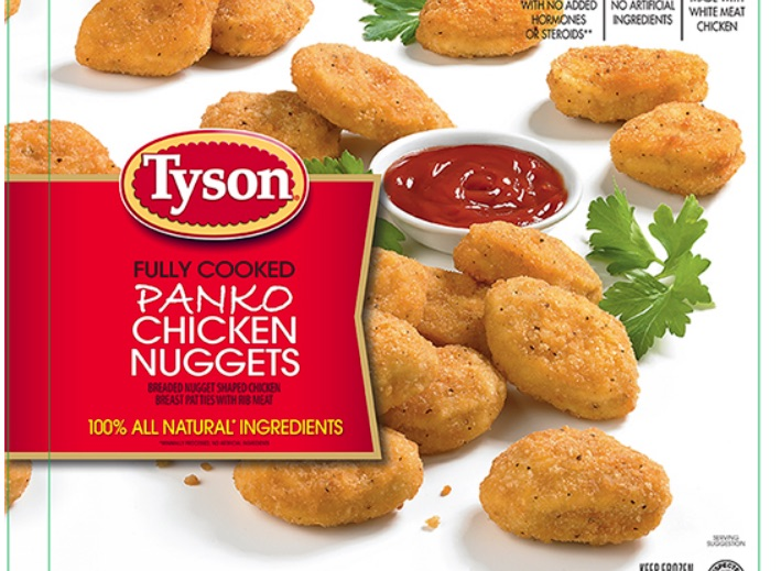Tyson Recalls 66 Tons Of Chicken Nuggets That May Contain Plastic Pieces