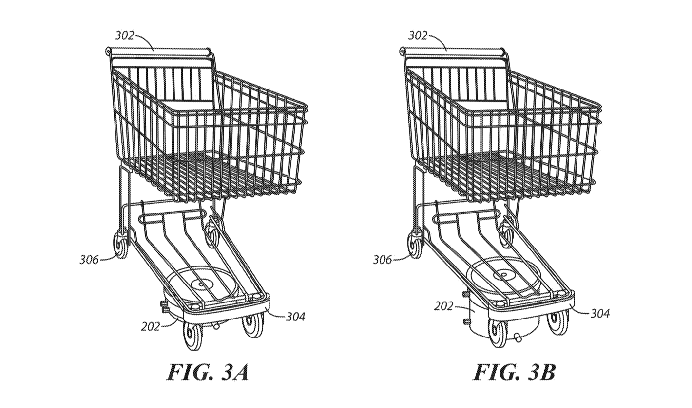 Walmart Patents Rolling Army Of Autonomous RoboCarts