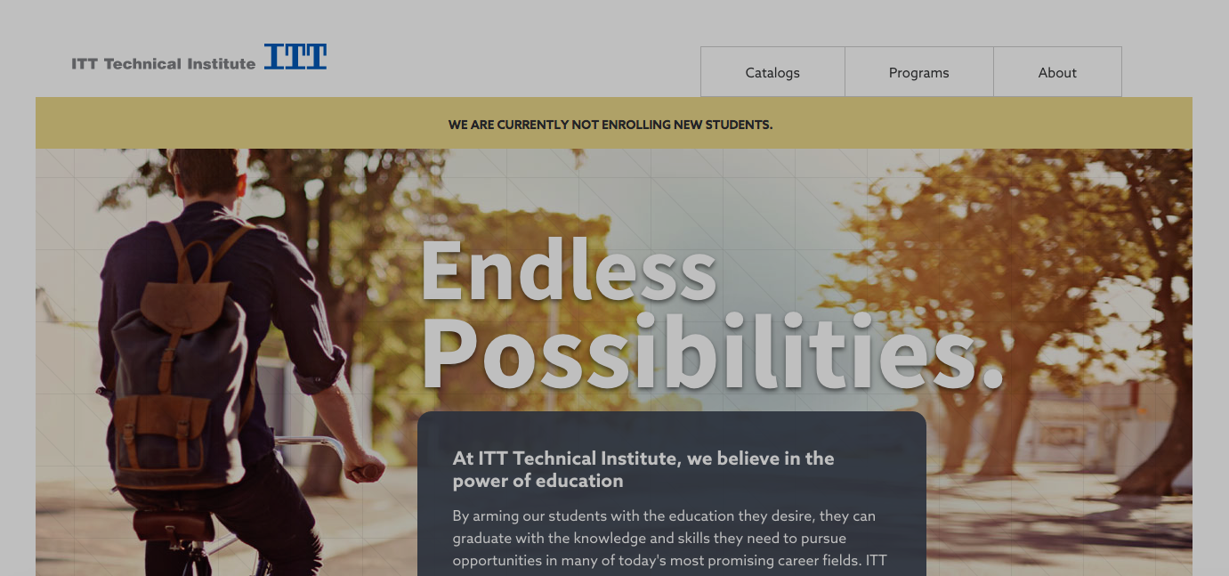 ITT Tech Closes All 130 Campuses