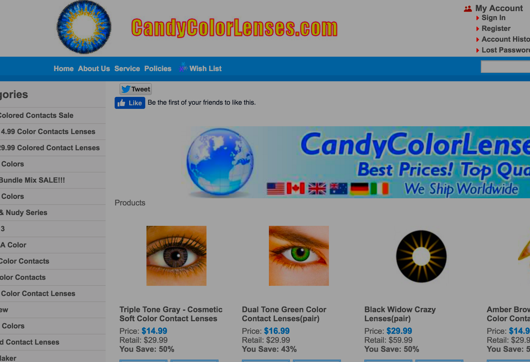 Owner Of Online Colored Contact Lens Store Pleads Guilty To Importing & Selling Counterfeit Lenses