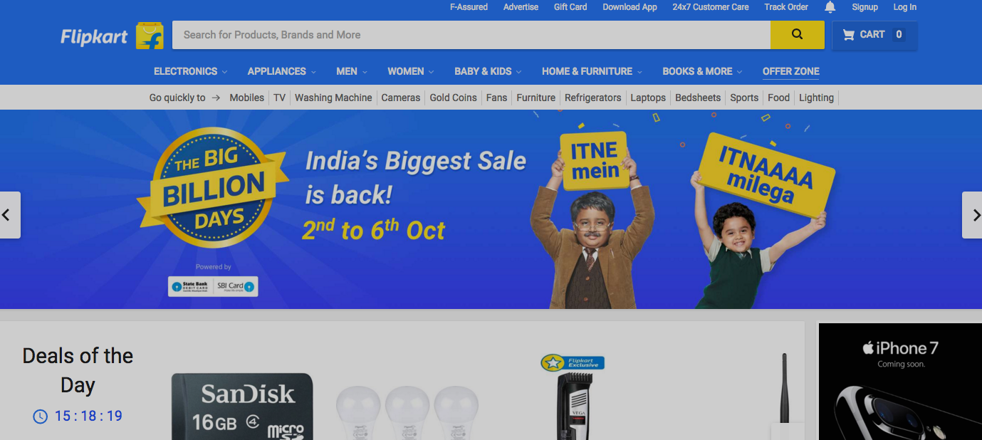 Walmart May Invest $1B In Flipkart To Fight Amazon Overseas