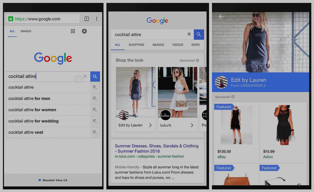 "Google's New ""Shop The Look"" Lets You Buy Clothes, Furniture From Image Search Results"
