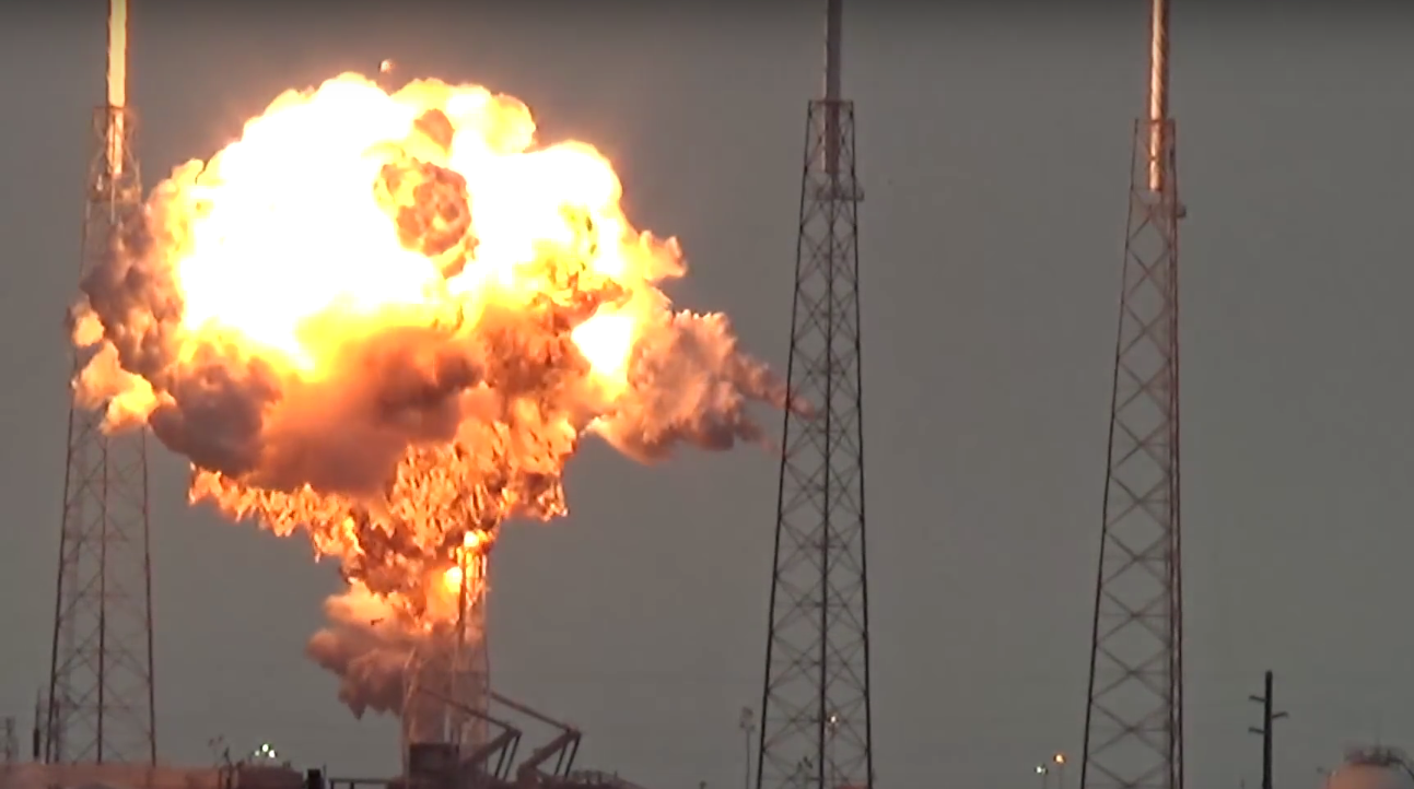 Facebook Internet Satellite Destroyed Spectacularly In Rocket Failure
