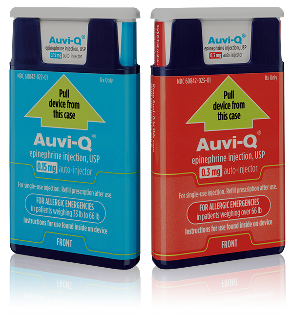 EpiPen Competitor Auvi-Q Relaunching Next Year