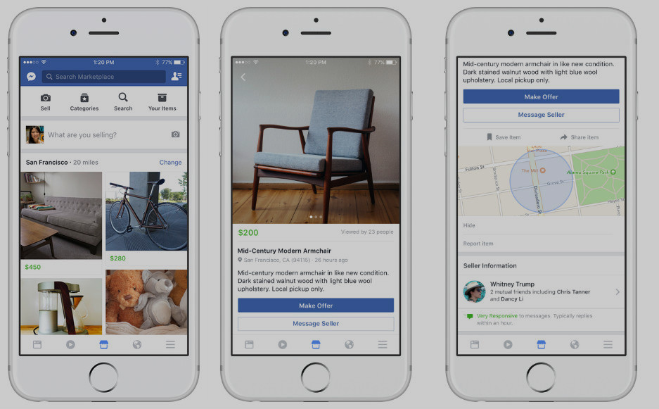 "Glitch Caused Facebook's New ""Marketplace"" To Show Ads For Drugs, Animals, Adult Services"