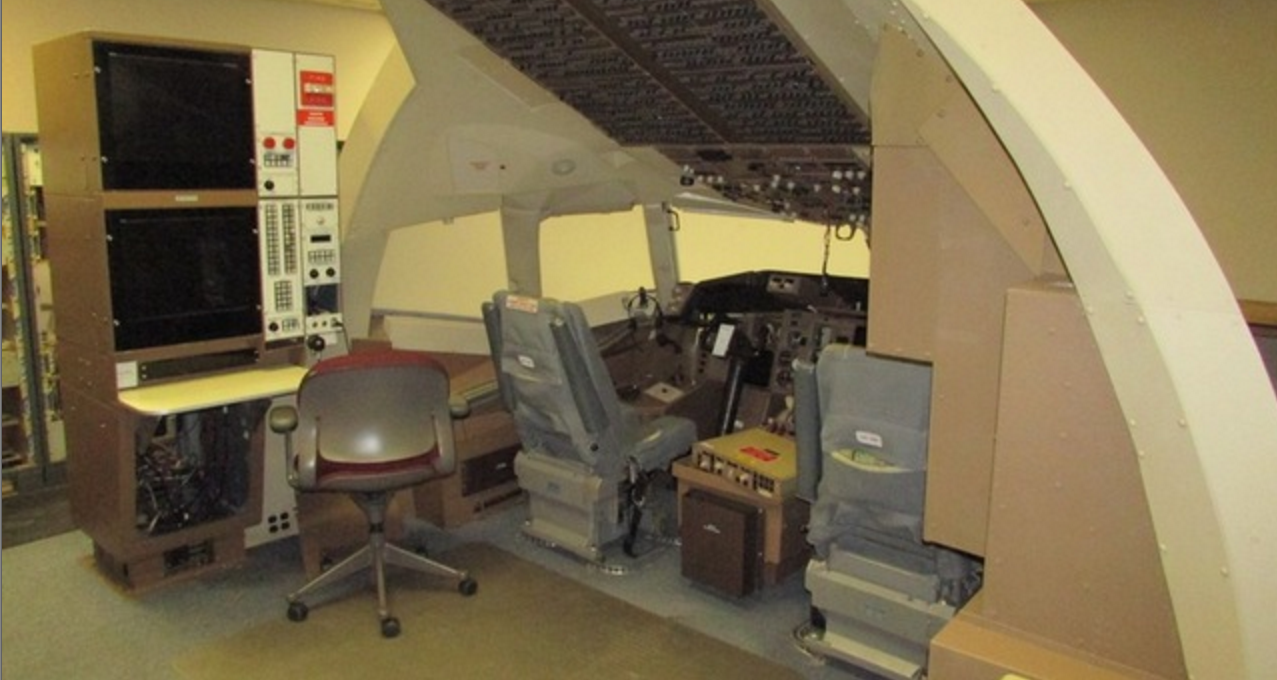 Want To Spruce Up Your Rec Room With A Delta Flight Simulator? Now's Your Chance!
