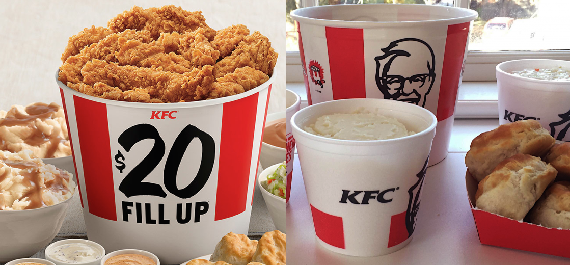 "$20 Million Lawsuit Accuses KFC Of Misleading Ads For ""Family Fill Up"" Meals"