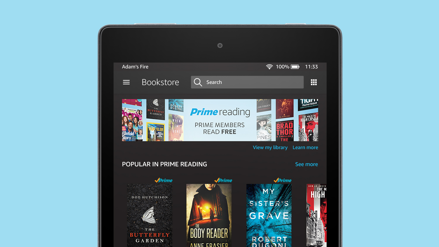 Amazon Prime Members Will Now Have Access To Library Of Free E-Books