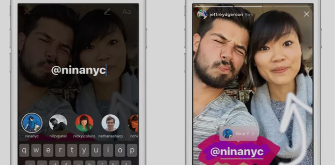 Instagram Adds Mentions, Links, And Boomerang Tool To Stories Feature
