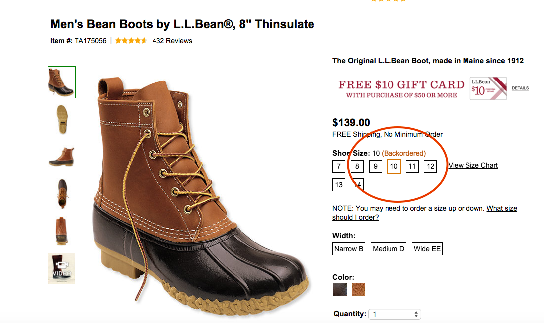 L.L. Bean's Duck Boots Still All The Rage, Continue To Be Backordered