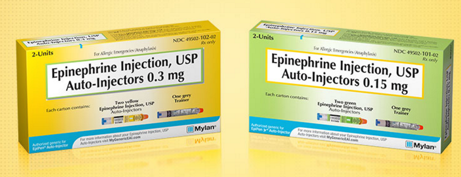 The EpiPen Generic Is Finally Here, For $300 Per Twin-Pack